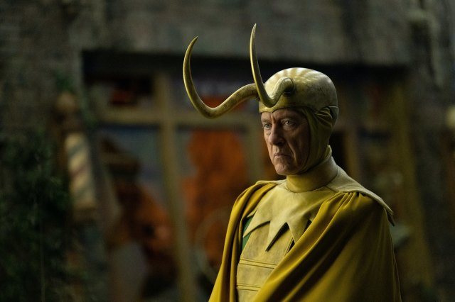 Classic Loki (Richard E. Grant) in Marvel Studios' LOKI, exclusively on Disney+. Photo by Chuck Zlotnick. ©Marvel Studios 2021. All Rights Reserved.