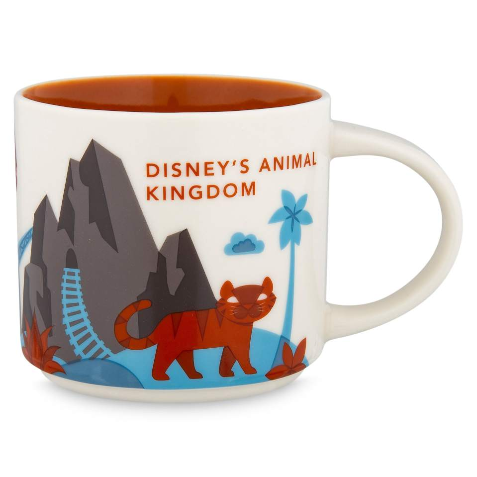 Product Image of Disney's Animal Kingdom Starbucks YOU ARE HERE Mug # 1