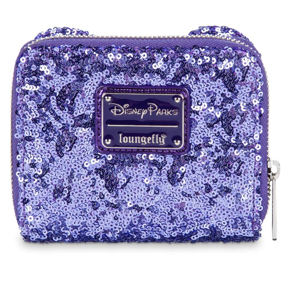 Product Image of Minnie Mouse Potion Purple Sequined Wallet by Loungefly # 1