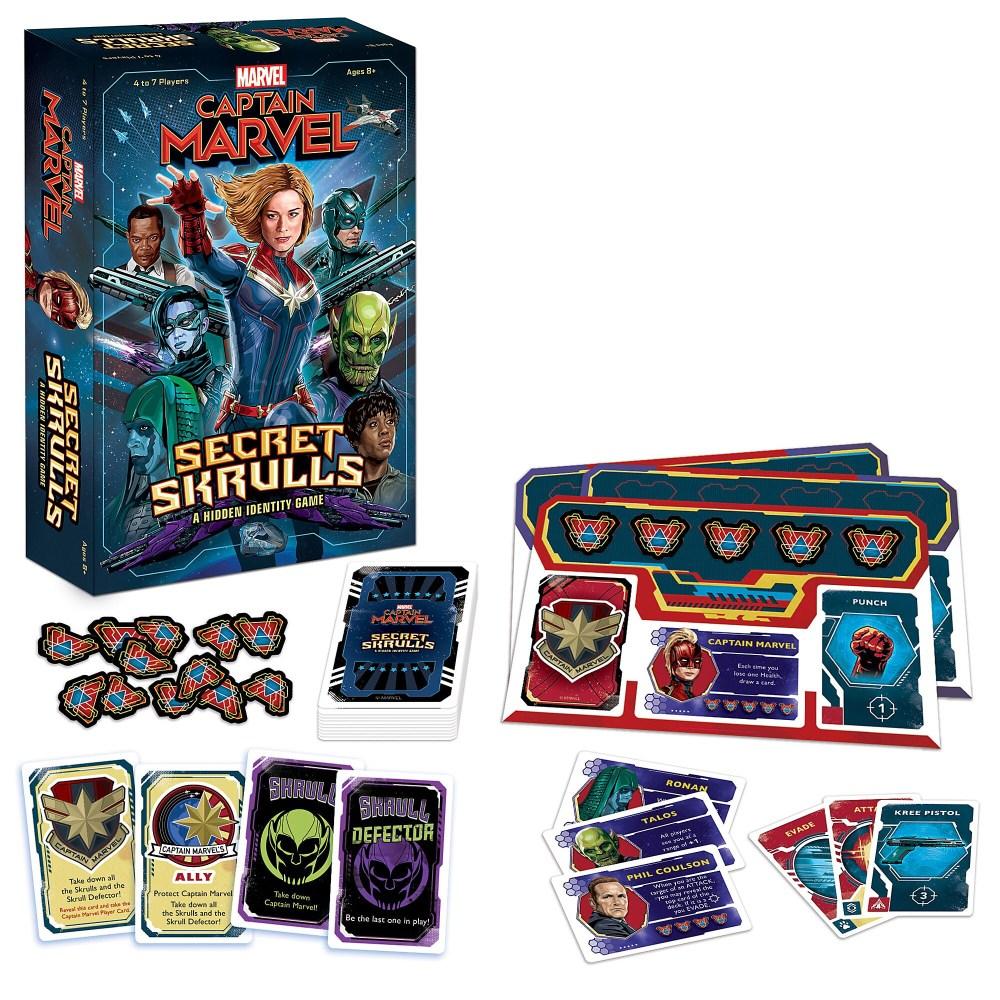 Marvel's Captain Marvel: Secret Skrulls Game Official shopDisney