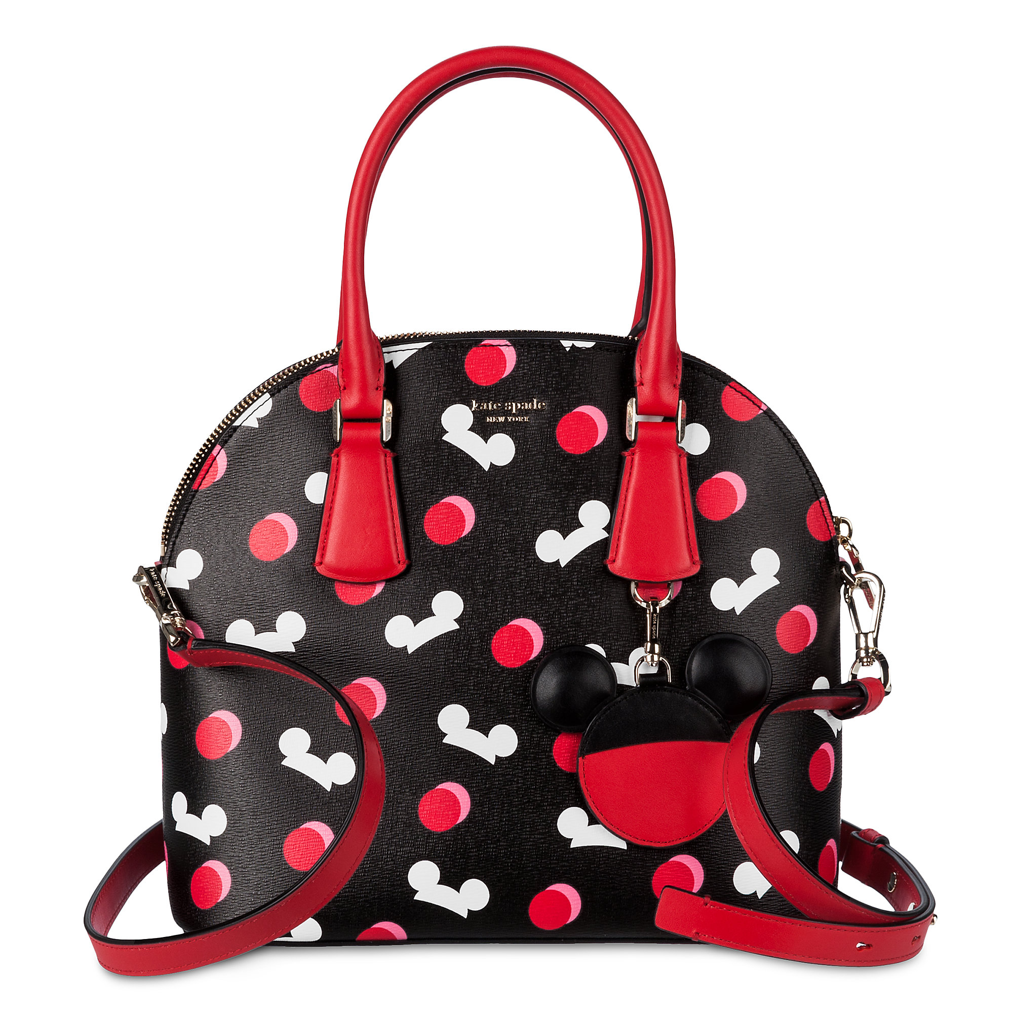 Mickey Mouse Ear Hat Satchel by kate spade new york - Black Official shopDisney