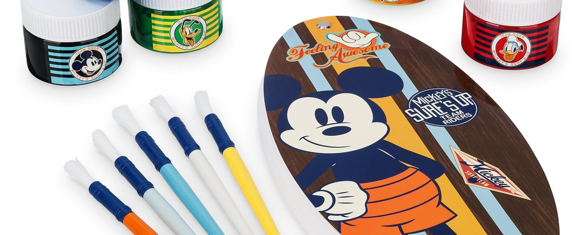 Product Image of Mickey Mouse Surf's Up Artist Paint Kit # 1
