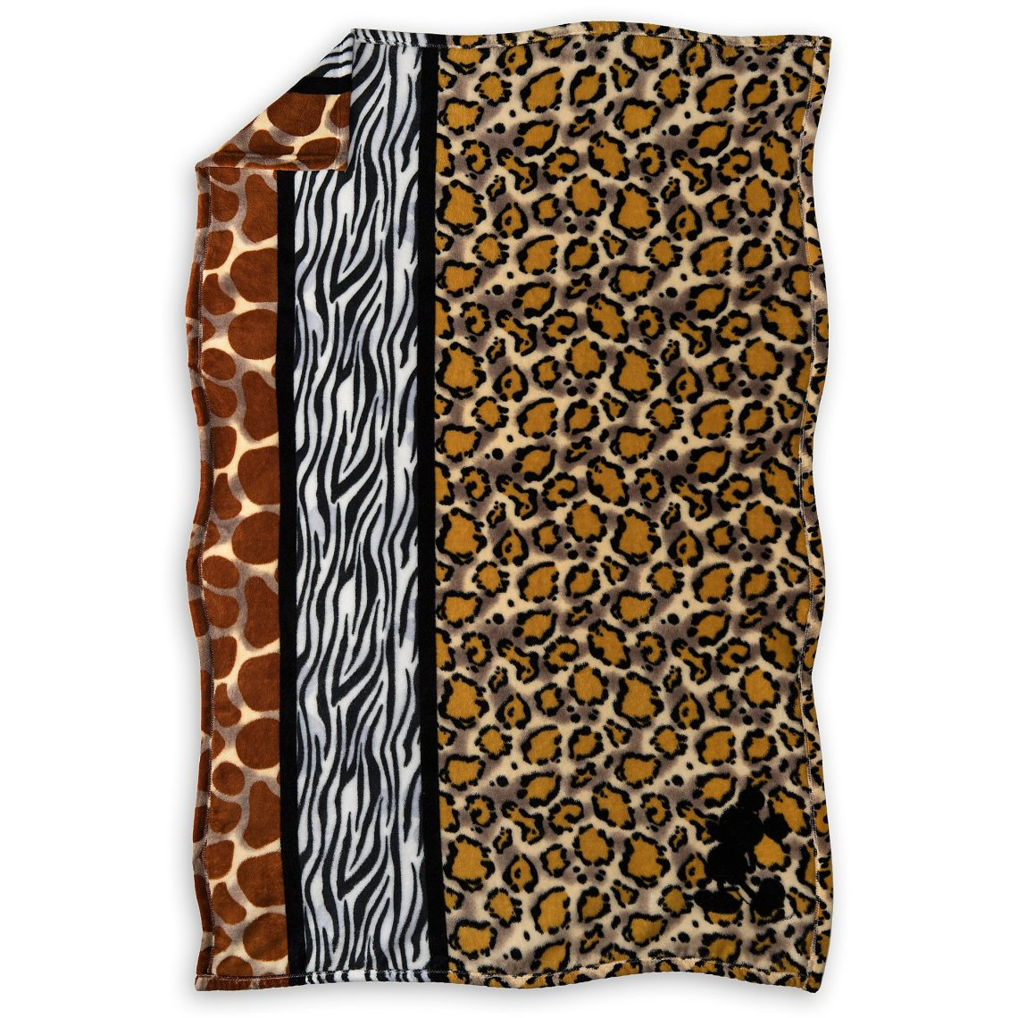 Mickey Mouse Animal Print Throw Disneys Animal Kingdom