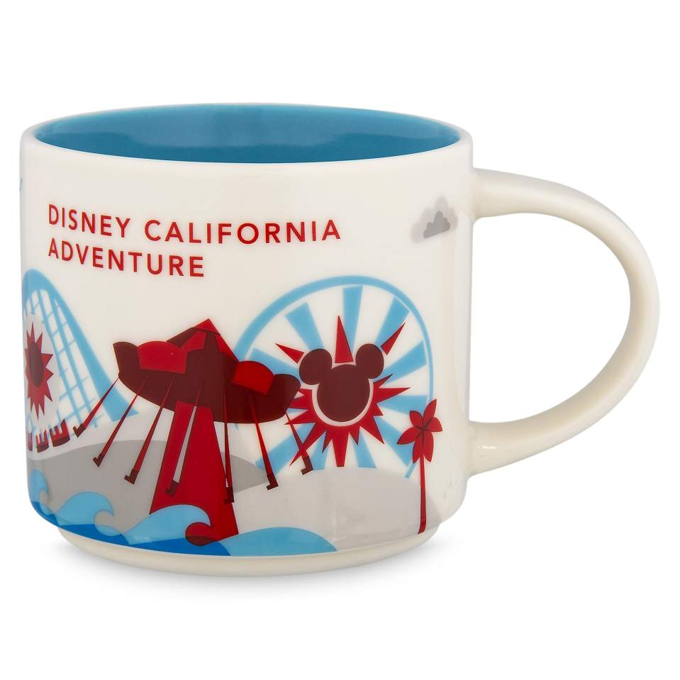 Product Image of Disney California Adventure Starbucks YOU ARE HERE Mug # 1