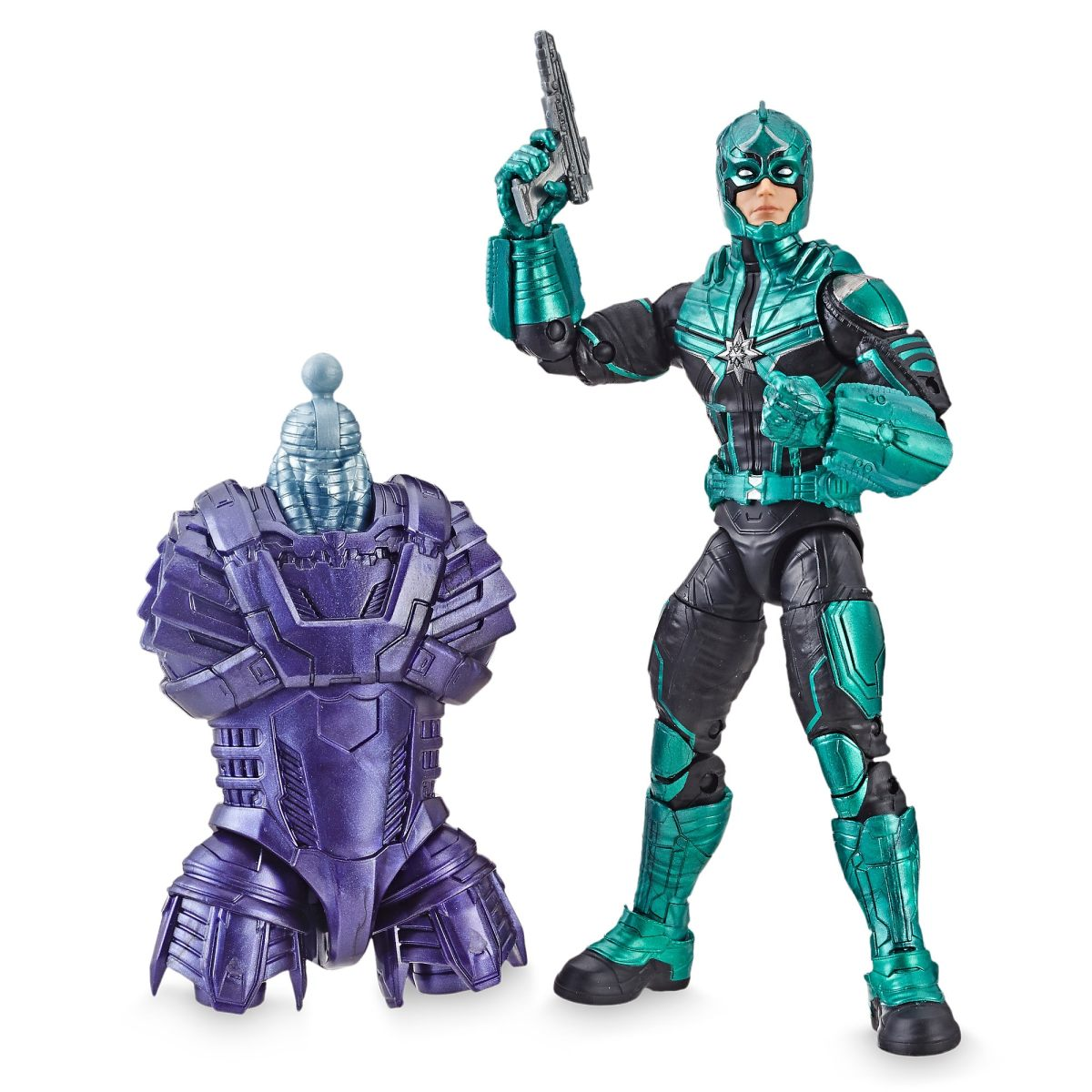 starforce commander action figure - legends series - marvel's