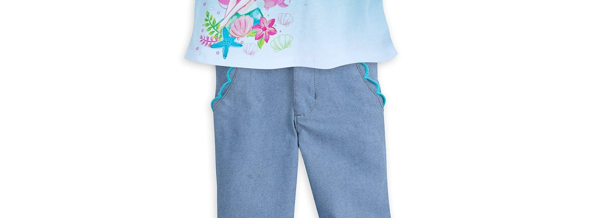 Product Image of The Little Mermaid Pants Set for Girls # 1