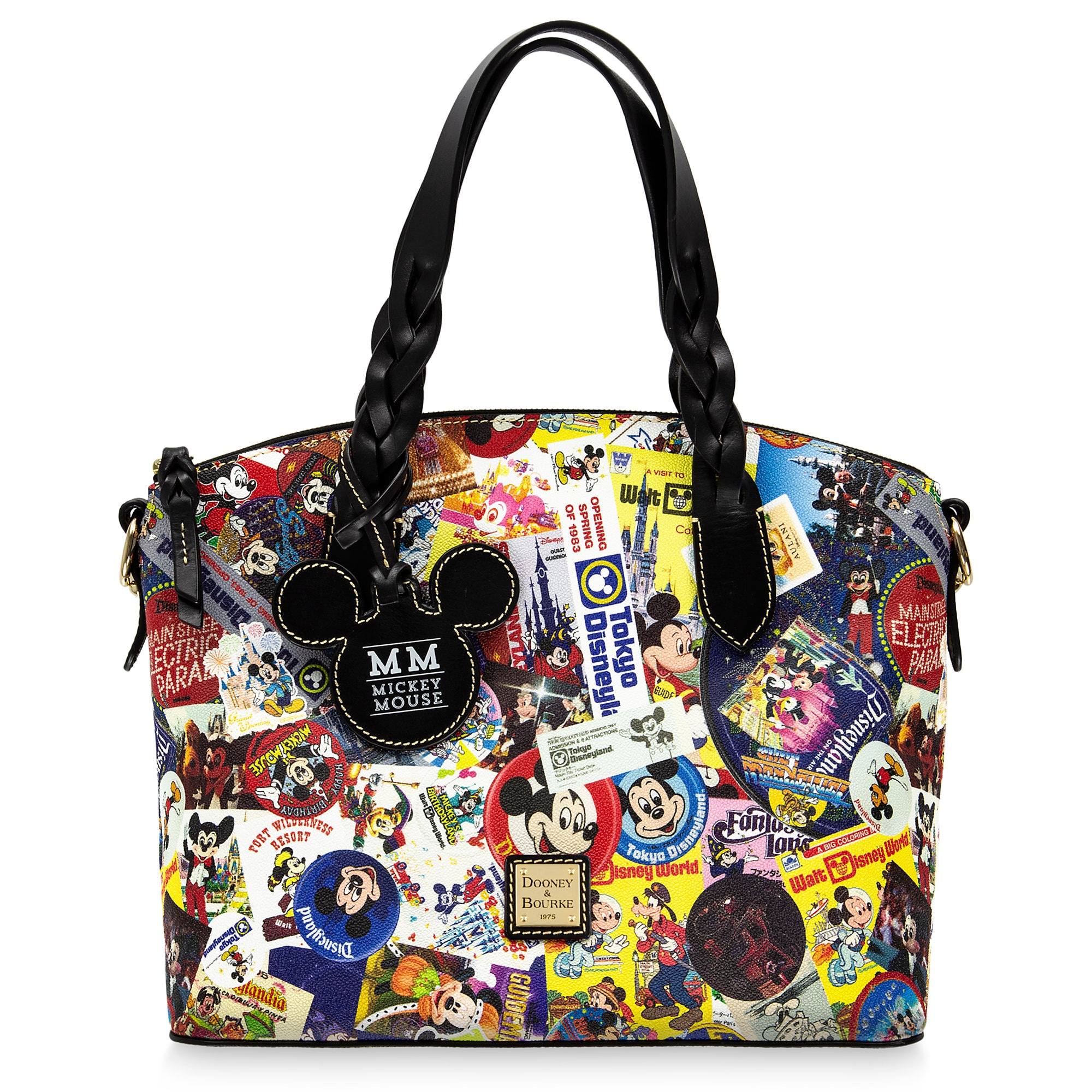 Mickey Mouse Satchel by Dooney & Bourke Official shopDisney