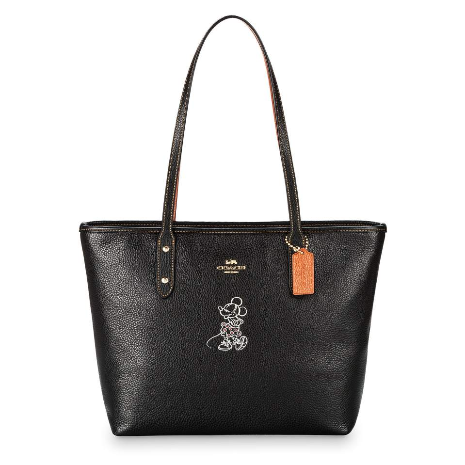 Product Image of Minnie Mouse City Zip Tote by COACH # 1