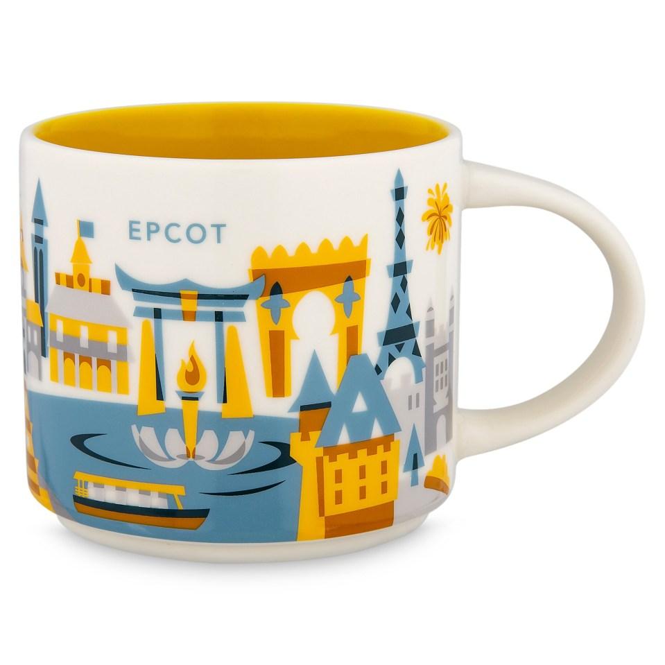 Product Image of Epcot Starbucks YOU ARE HERE Mug # 1