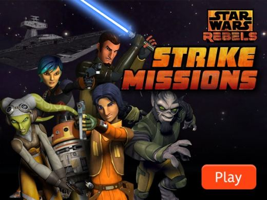 Star Wars Games   LOL Star Wars Star Wars Rebels   Strike Missions