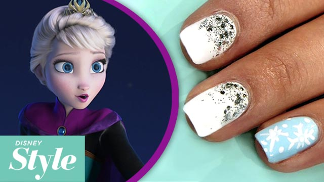 Frozen Elsa Nail Art Nails Industriet