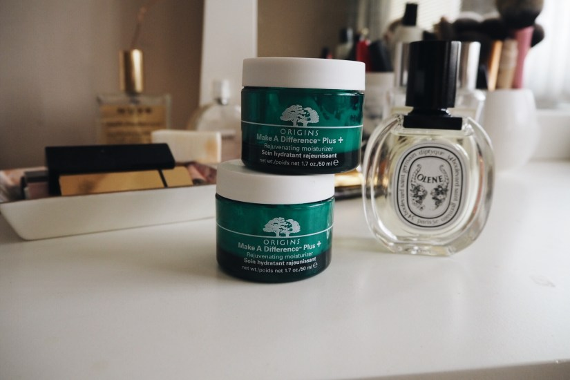origins make a difference plus moisturiser review