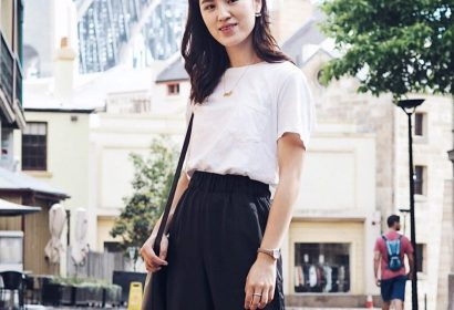 everlane review, everlane t-shirt, box-cut pocket tee, white t shirt, white tee, simple, ethical fashion, ethical designer