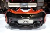 McLaren P1 Back Trasera Difusor