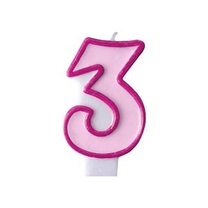 fødselsdagslys 3 år