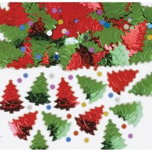 Konfetti - juletræer