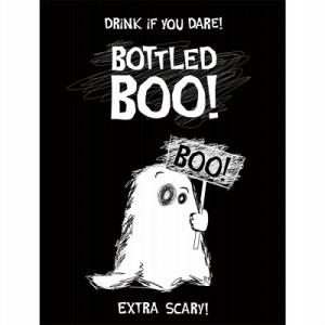 Etiketter til vinflasker Halloween