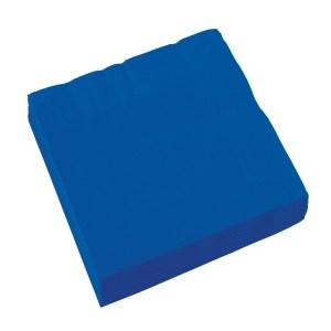 royal blue servietter