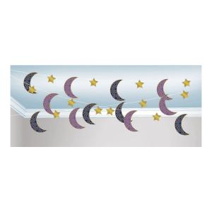 Eid bannere med måner og stjerner