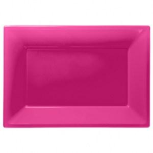 Serveringsfade bright pink