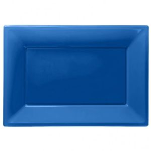 Royal blue serveringsfade