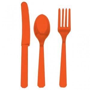 Orange bestik