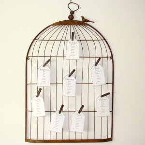 Birdcage bord planner