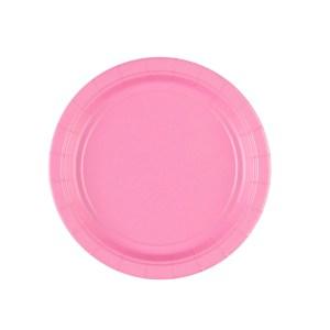 Lyserøde tallerkener