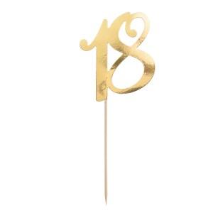 18 år Fødselsdagspynt