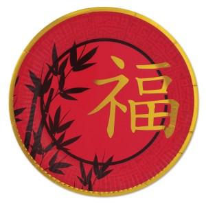 Tallerkener kinesisk Nytår