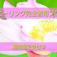 【期間限定】ルミナヒーリング完全習得プログラム