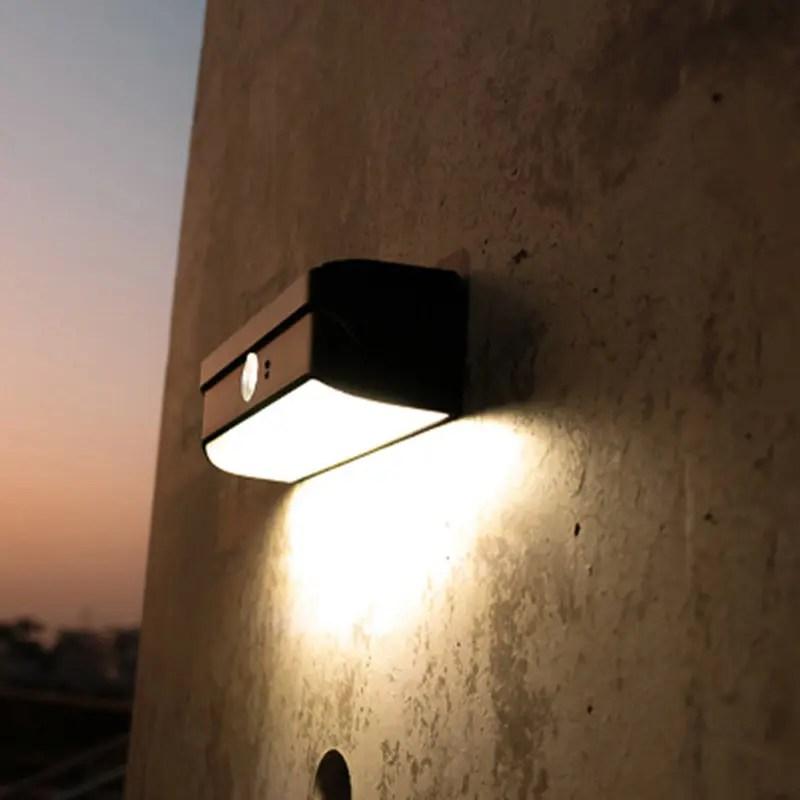 lampe led solaire exterieur avec detection luminaire solaire