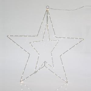 Estrella Metálica Iluminada LED