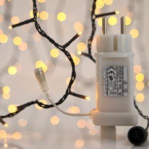 Cadena 400 LED Blanco Cálido Ritmo Música