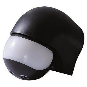 Sensor Movimiento Infrarrojos Negro IP44 800W