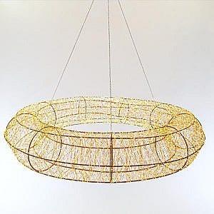 Guirnalda LED Ø90cm 12480 Micro LED