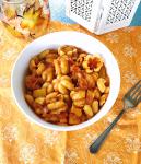 spicy pumpkin zucchette pasta recipe image