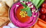Holiday Beet Hummus Recipe