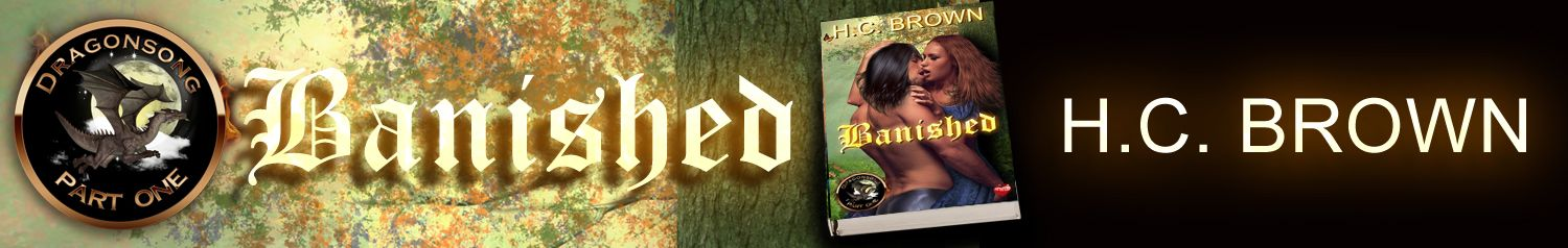 New Release: Banished (The Dragonsong Trilogy – Part One) by H.C. Brown