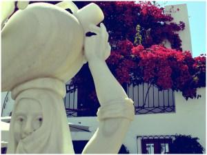 Estatua-Mojarera