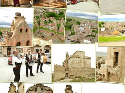 Turégano, simbolizado en el Castillo