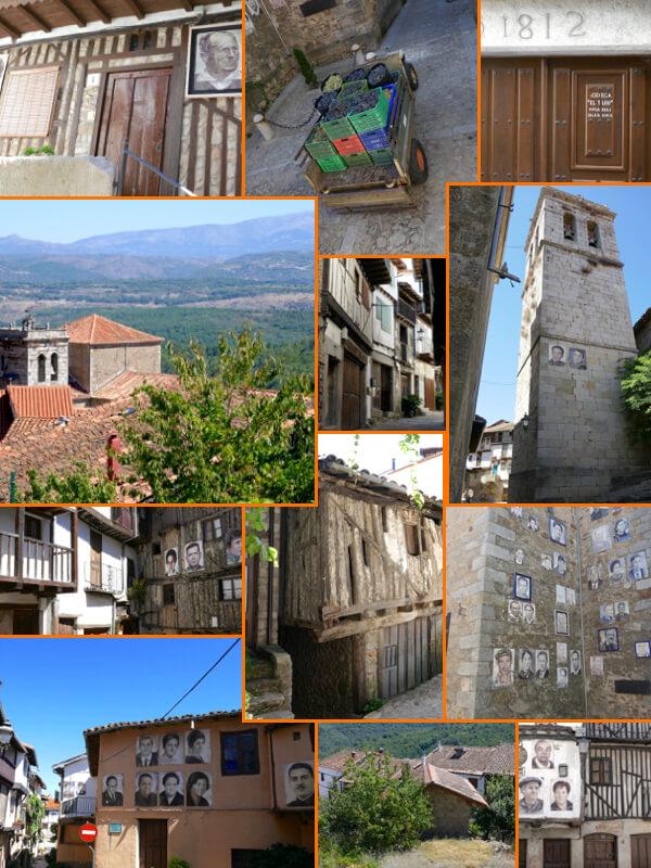 Mogarraz en la Sierra de Francia