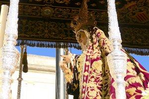 Virgen de la Victoria (anónima, S. XVII). Hermandad Las Cigarreras