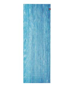 manduka SuperLite Dresden Blue Marbled reiseyogamatte