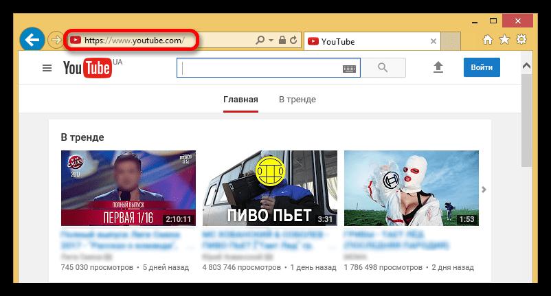 Pääsivu YouTube