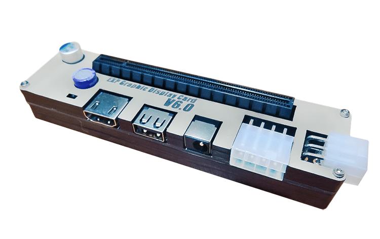 Сыртқы бейне картасын ноутбукке қосу үшін GDC адаптерін