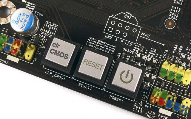 BIOS қалпына келтіру түймесі