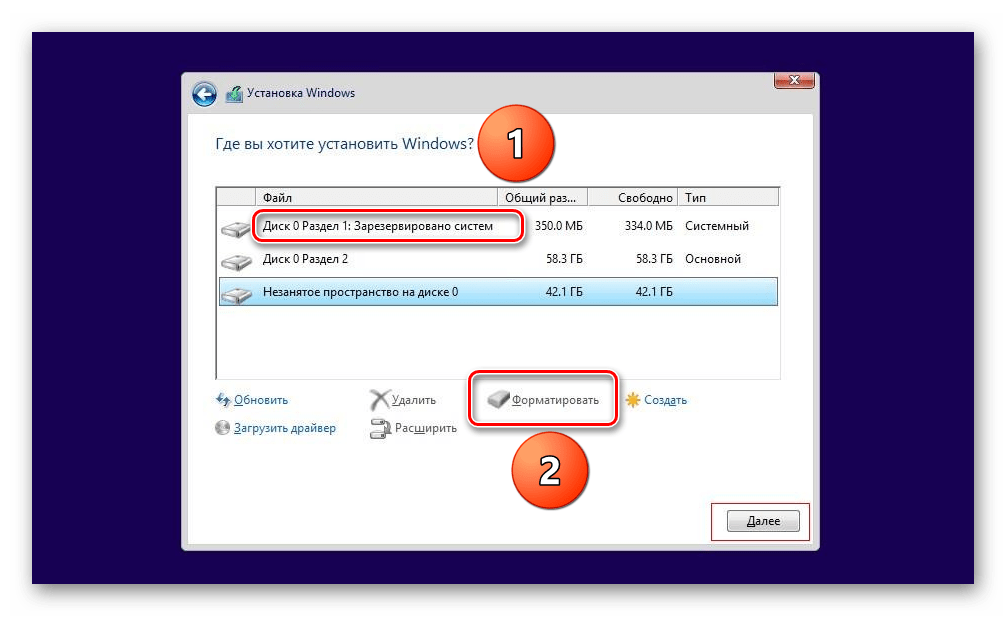 Formattazione della sezione del disco rigido quando si installa Windows 8