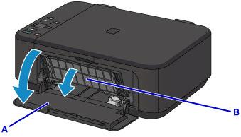 Açık Yan Yazıcı Kapak Marka Canon