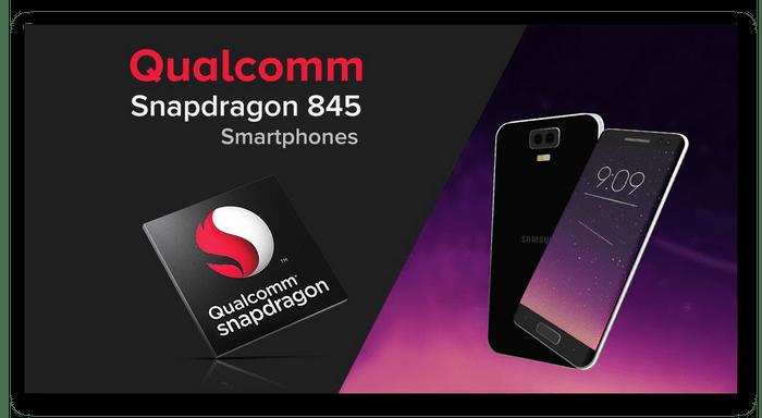 Qualcomm Snapdragon 845 İşlemci, Samsung cihazından cihaza monte edildi